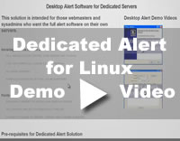 Alert Solution for Linux Dedicated Server Video
