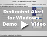 Alert Solution for Windows Dedicated Server Video