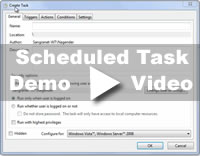 Scheduled Task Setup for Windows video